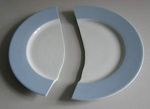 Gebroken bord