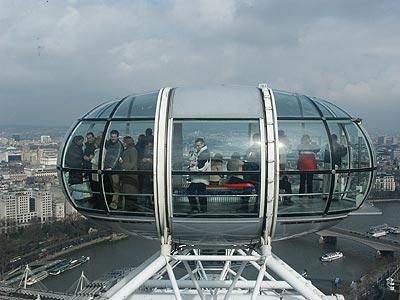 UItzicht vanuit London Eye
