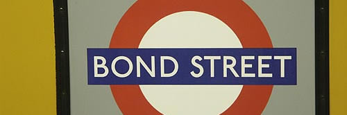 The Name is Bond Street