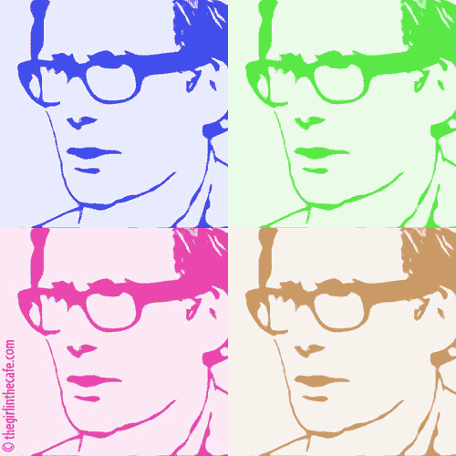 Bill Nighy Art III - Bill goes Blur