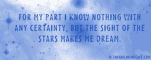 Stars Make me Dream