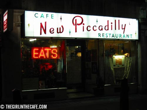 New Piccadilly Cafe, Denman St, London W1