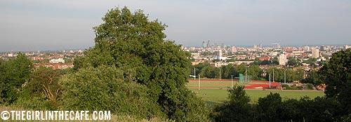 The Fool on Parliament Hill, Hampstead Heath