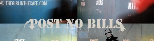 POST NO BILLS Ghosts - The New York way