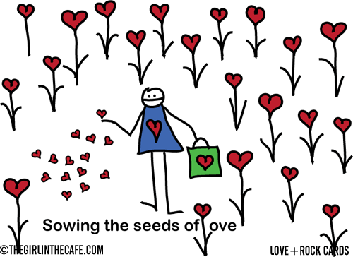 Love+Rock: Sowing the seeds of love