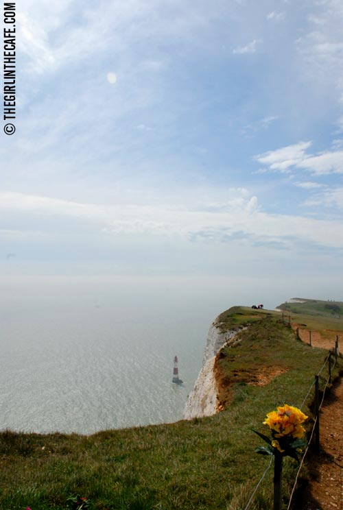 Beachy Head with lighthouse