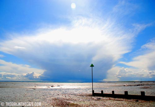 On the beach - Leigh-on-Sea