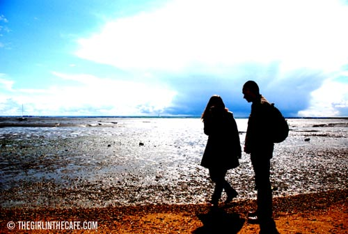 On the beach - Magrathea