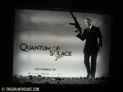 Quantum of Solace film poster