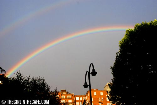 Somewhere over the rainbow?