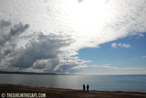 Weymouth beach in the morning