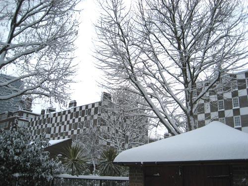 Snow in London (Pimlico)