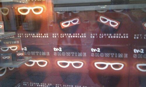 It's Showtime in Copenhagen shop windows too