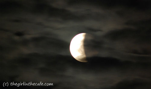Moon Eclipse, 15th of June 2011