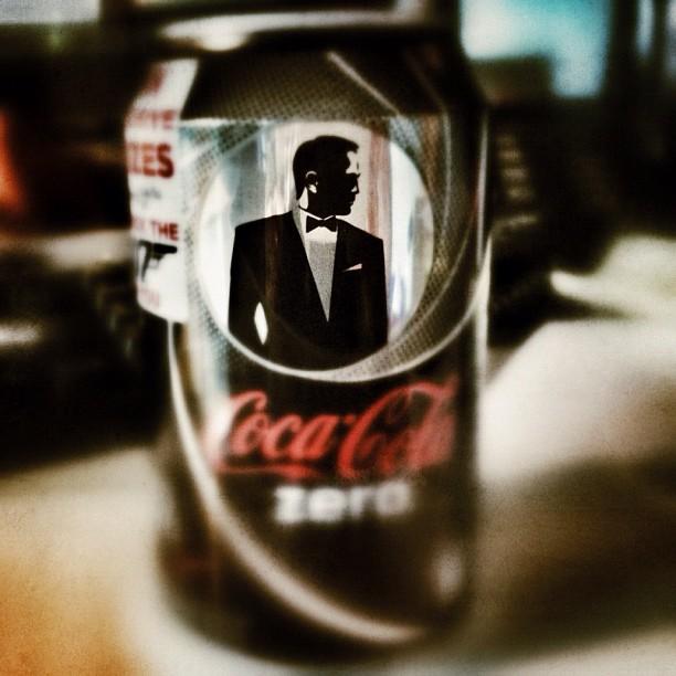 James Bond Coke can