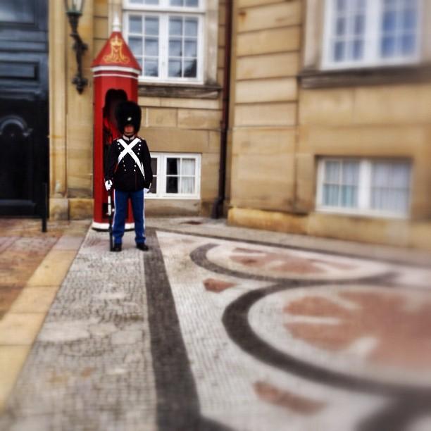 Amalienborg guard