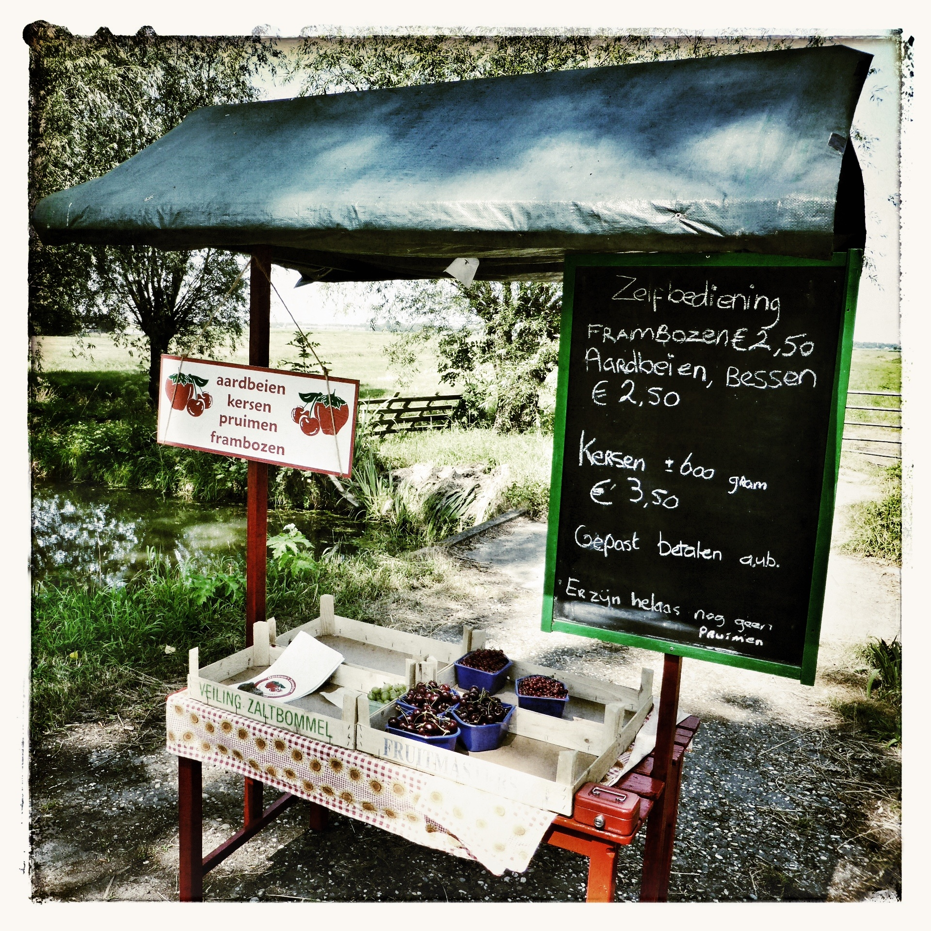 Local fruit stall