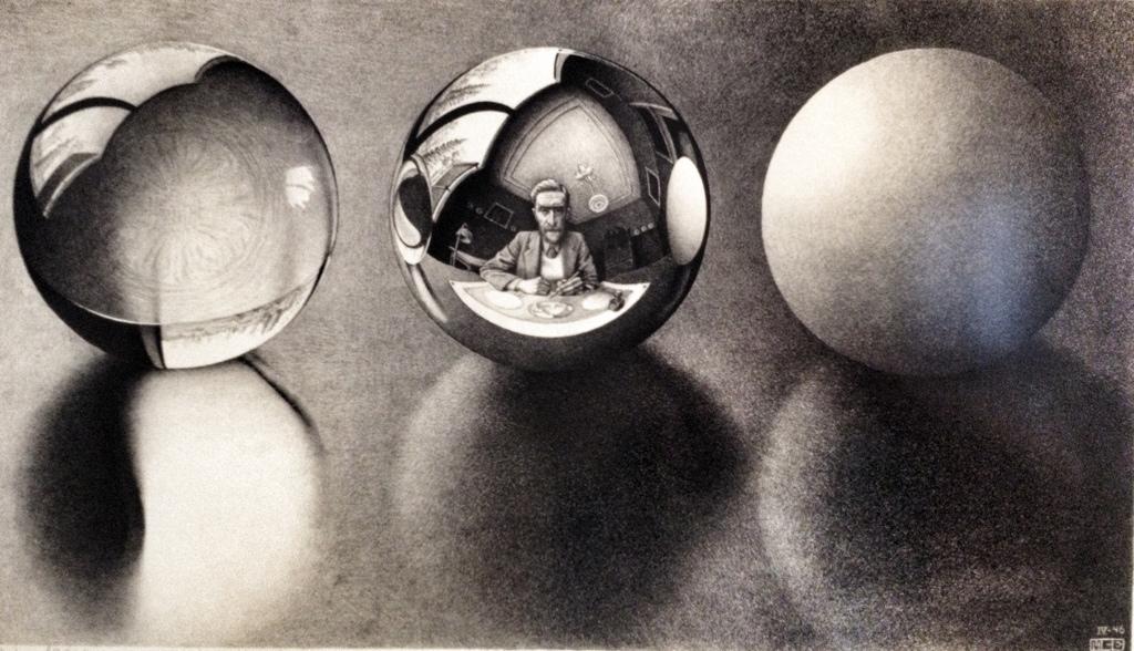 Escher: spheres