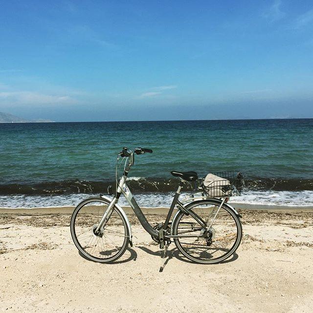 Nice place for cycling break #Greece #KOS #tigaki #cycling